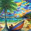 A Man & His Boat, original sold by Lalita L. Cofer Signed limited edition prints are available, please use the Pay Pal button on the page to purchase and then email the artist with the title of the print you wish to have sent to you.
