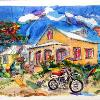 SPANISH WELLS HOT WHEELS, the Bahamas by Lalita L. Cofer  -signed limited edition print  includes shipping $69.00